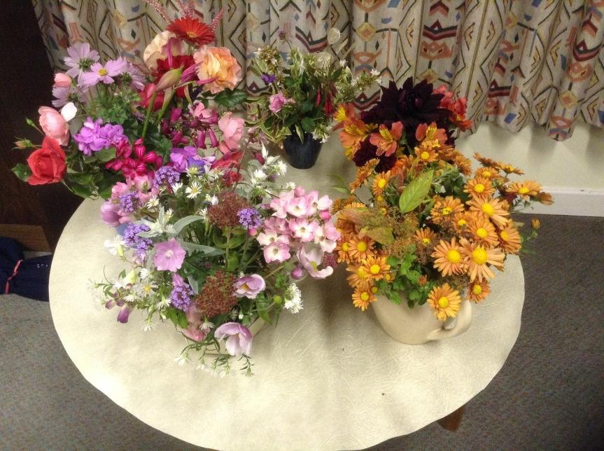 October flowers 2018